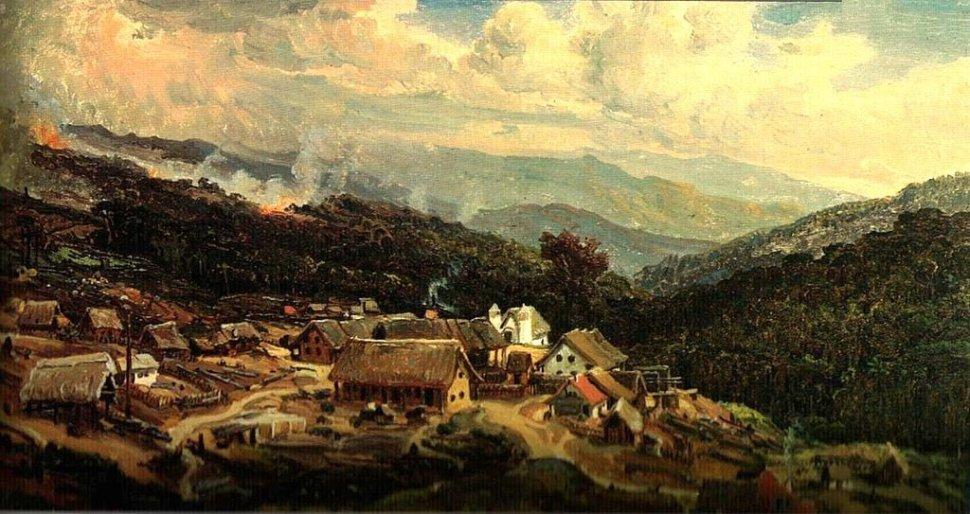 Ferdinand Bellermann. La Colonia Tovar