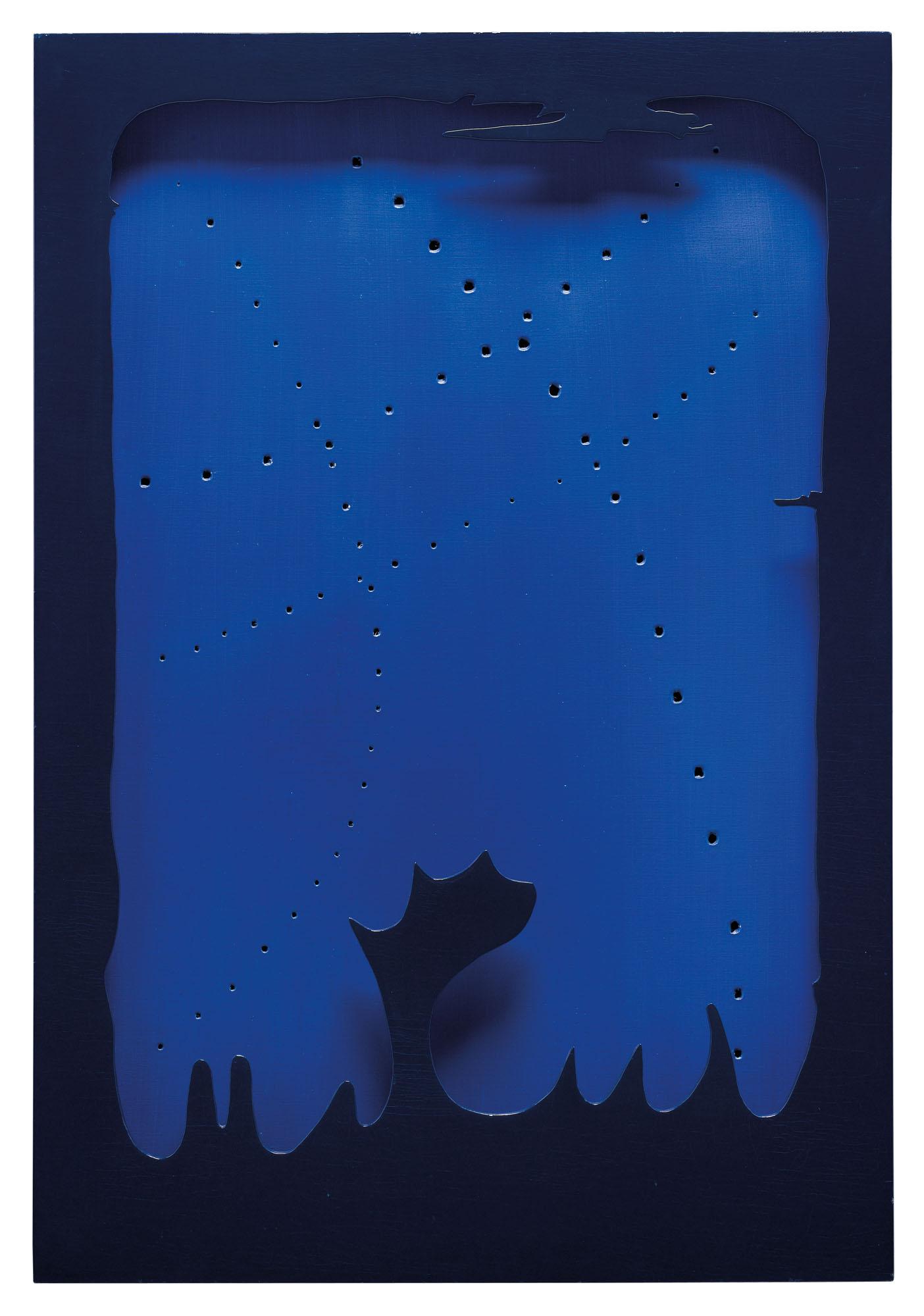 Lucio Fontana. Concepto Espacial- Teatrino, 1965-66