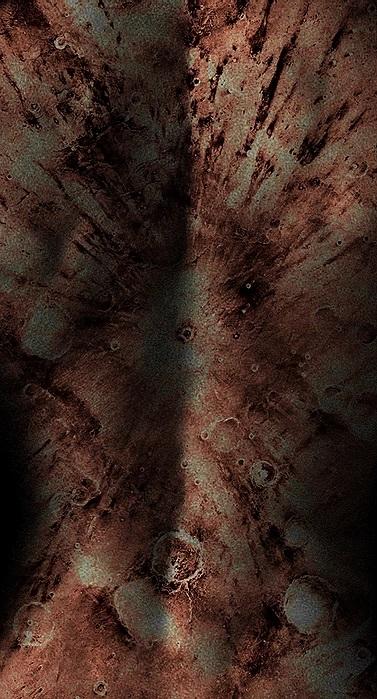 Antonio Briceño. Serie La piel de marte 4.