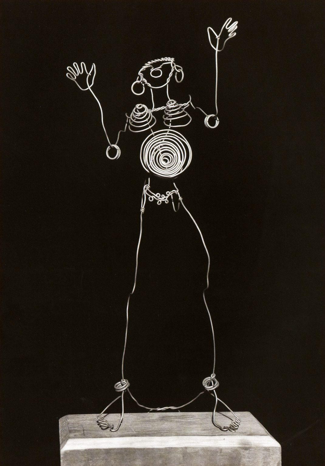 Calder, Josephine Baker I c. 1926