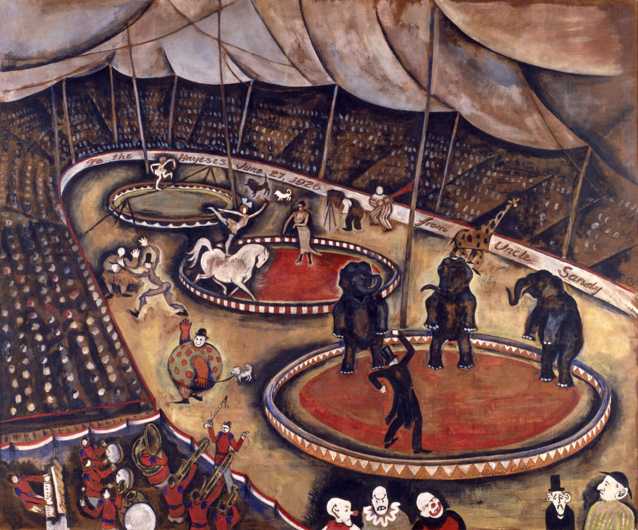 Calder, Circus scene 1926