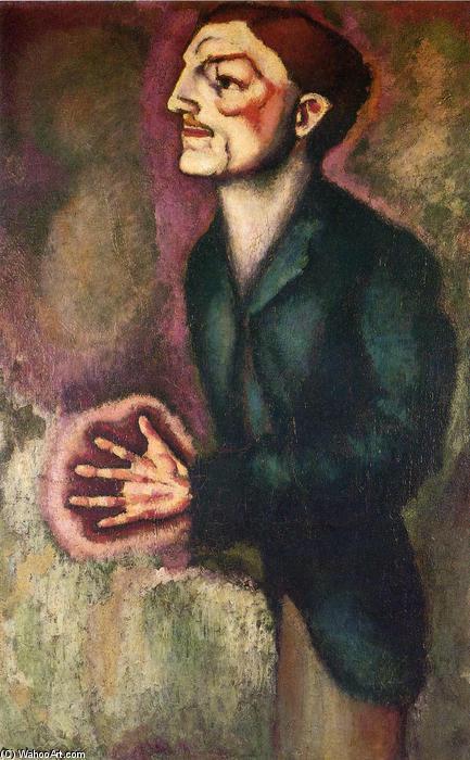 Marcel Duchamp. Portrait of Dr. Dumouchel, 1910.