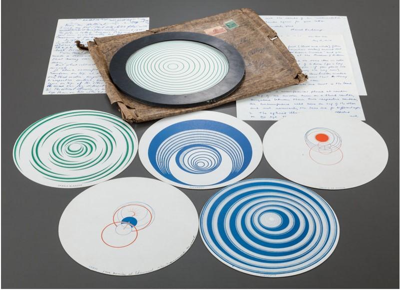 Marcel Duchamp. Rotoreliefs Optical Discs