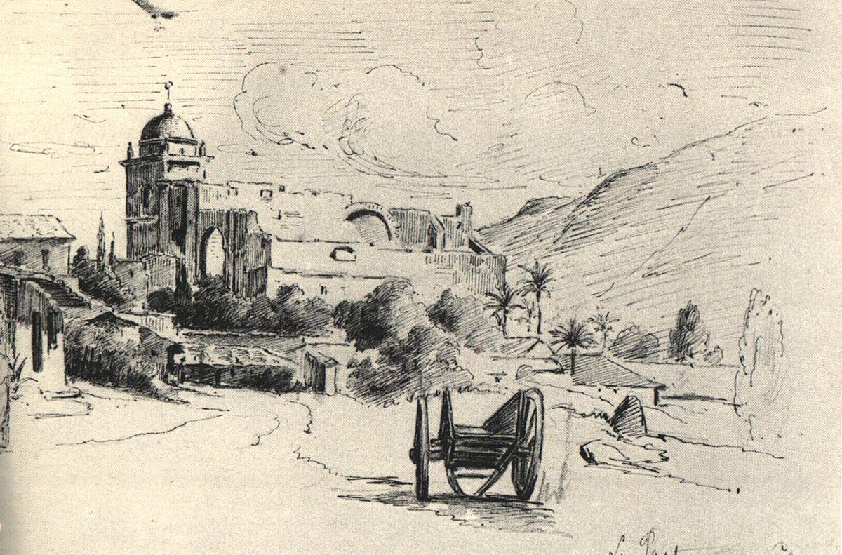La Pastora, Caracas. 1853. Galería de Arte Nacional, Caracas - Venezuela.