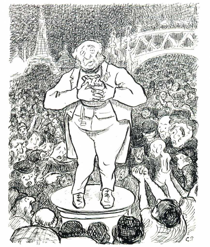 Camille Pissarro Turpitudes sociales. Cest la guerre