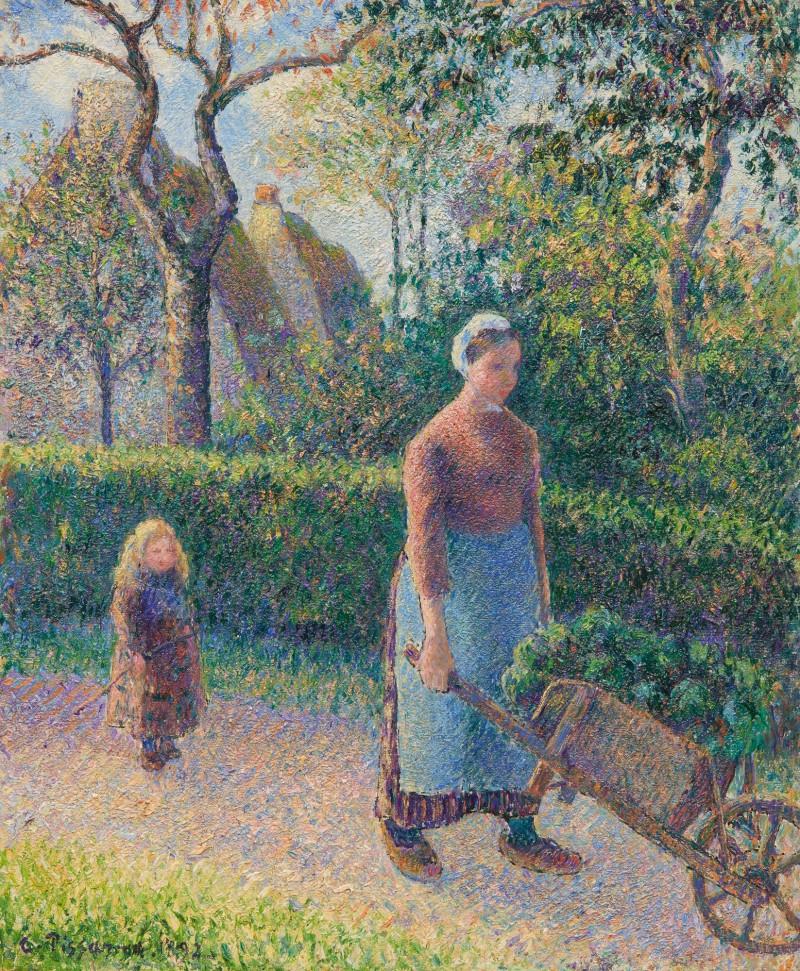 Camille Pissarro Femme a la Brouette1892