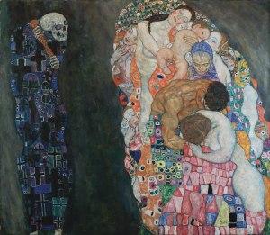 Gustav Klimt - Death and Life 1911