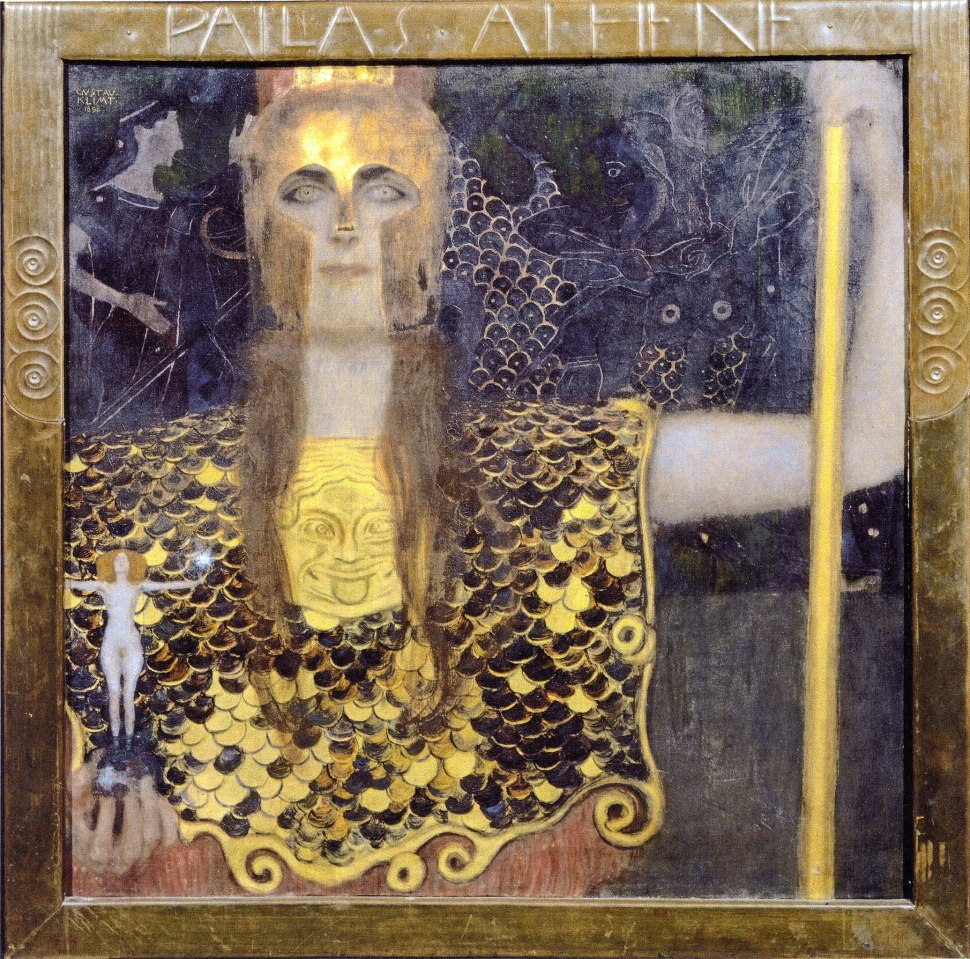 Klimt, Pallas Athena- 1898. Historisches Museum der Stadt Wien.
