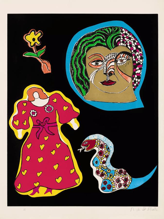 Niki de Saint Phalle, Serie Nana Power 1970