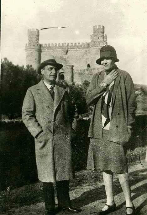 Victoria Ocampo con Ortega y Gasset