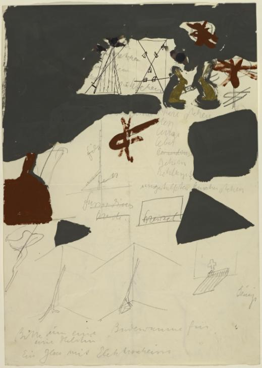 Joseph Beuys . Sin título, 1964. ARTIST ROOMS Acquired jointly with the National Galleries of Scotland through The d'Offay Donation with assistance from the National Heritage Memorial Fund and the Art Fund 2008 http://www.tate.org.uk/art/work/AR00662