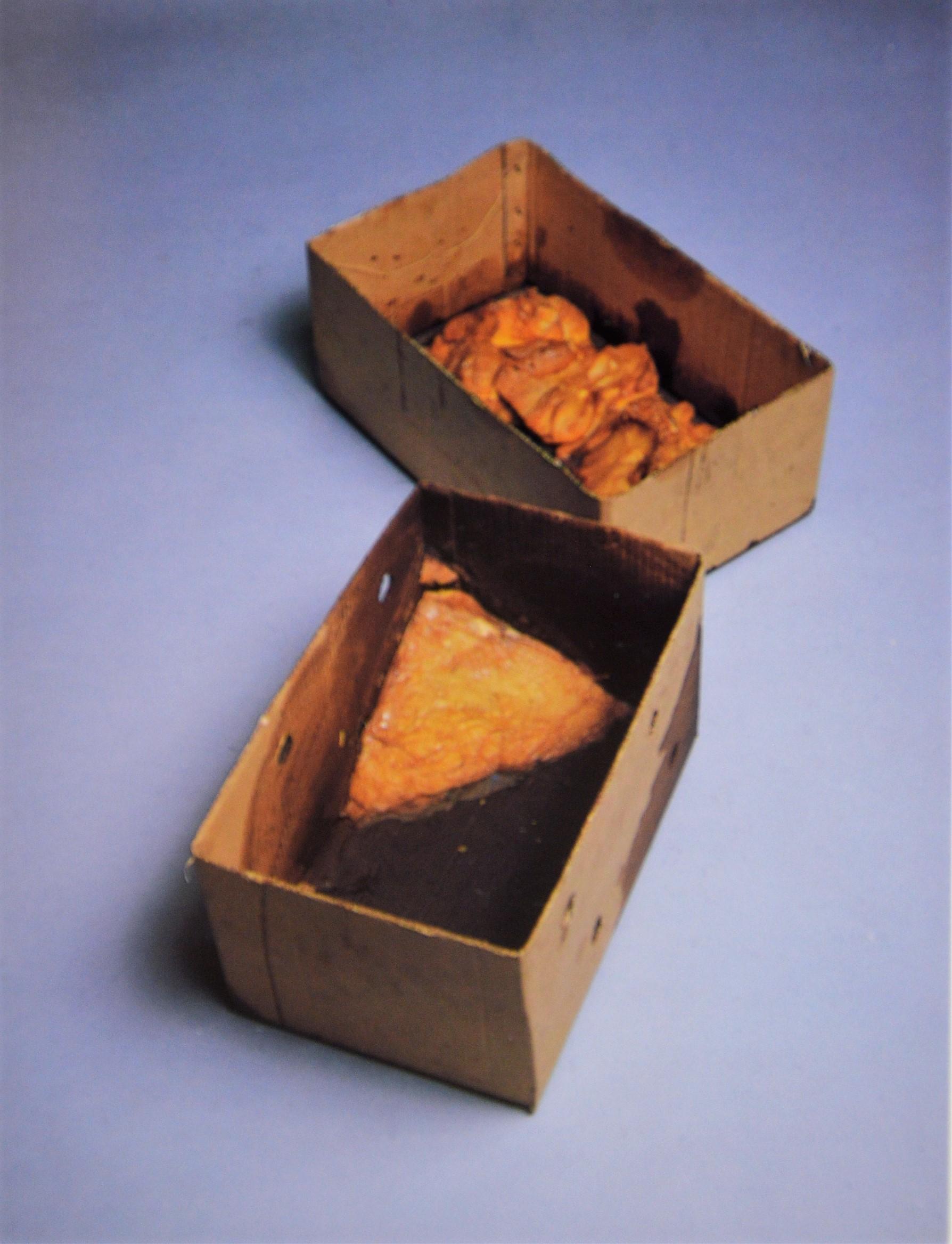 Joseph Beuys. Fat Corner Preocess, 1968.