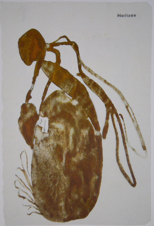 Joseph Beuys. Queen Bee for Bronze Sculpture, 1958.