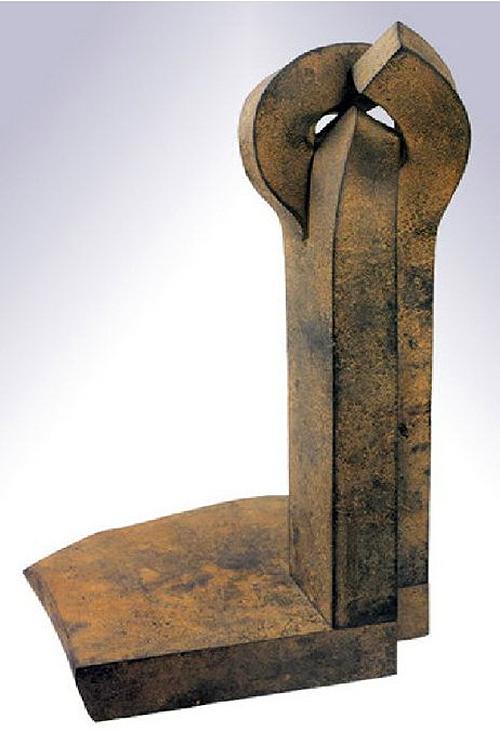 Eduardo Chillida. Lotura-II. Obra en la colección del Museo de Arte Moderno de Caracas.