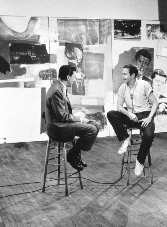 Robert Rauschenberg. Entrevistado para la television CBS, 1964.