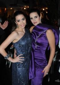 Luisa Elena Willson y Ana Elena Morales Willson