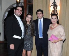 Juan Bautista Herrera, Ana Elena Morales, Alam Zaitman Herrera y Morella de Zaitman