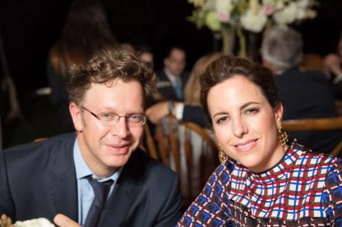 Nick Griffin y su esposa Adriana Cisneros