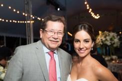 Leopoldo Castillo y Mariana Atencio