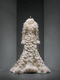 Atuendo de boda de Karl Lagerfeld para Chanel
