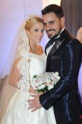 Mariana y Willson, los nuevos esposos