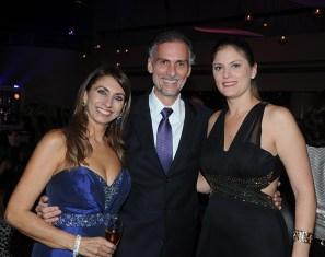 Lucy González, Francisco González y Carolina de Larrazábal