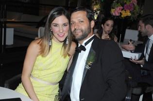 Manuel Granda y Paola Cottin de Granda
