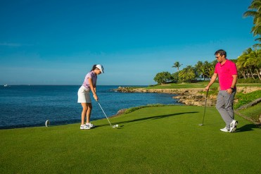 golf resort in the Dominican Republic