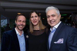 Antonio Vasco, María Mercedes Nouel y Carlos Fraga.