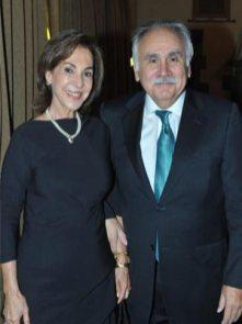 Ignacia Farías de Núñez y José Santiago Núñez