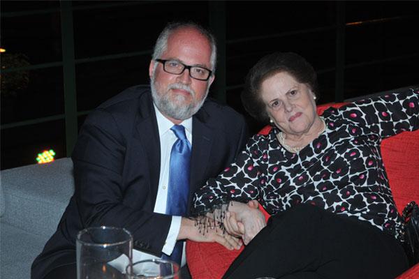 Carlos Vallenilla y Mariza Rodríguez de Vallenilla