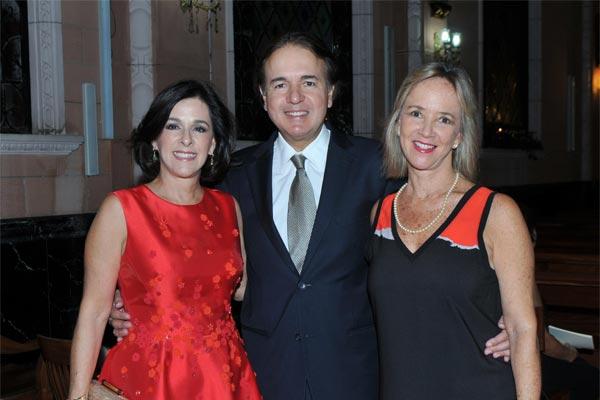 Laura de Feo, Tony Manrique y Patricia de Manrique