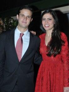 Jorge Rizquez y Ana Mercedes Mendoza.
