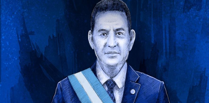 """El """"pecado original"""" del presidente Jimmy Morales y de Guatemala"""