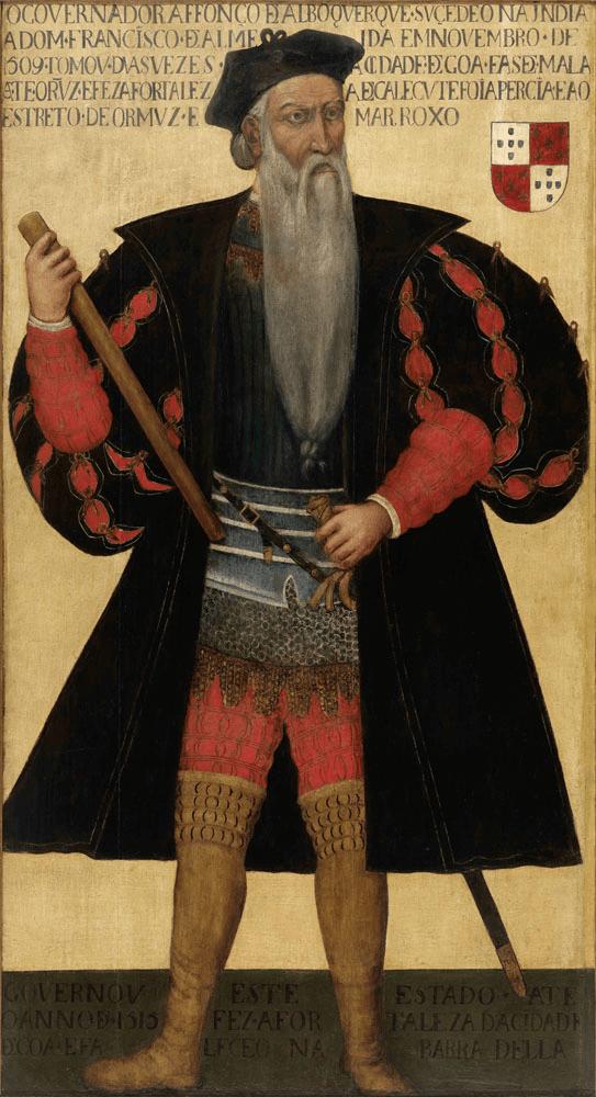 Retrato de Afonso de Albuquerque (após 1545) - autor desconhecido