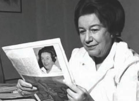 Ana Aslan, medic specialist în gerontologie,  academician din 1974, director al primului Institut Naţional  de Geriatrie şi Gerontologie din lume.