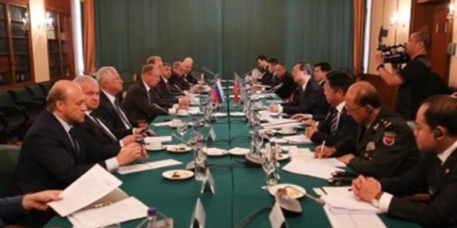"""China y Rusia sellan acuerdo para un orden internacional """"justo y equitativo"""