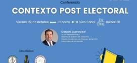 Analisis de Zuchovicki: «Contexto Post Electoral».