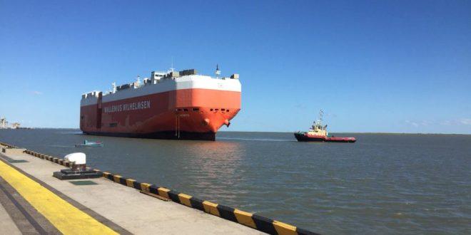 Primera operación de buques Ro-Ro en el puerto de Bahía Blanca