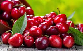 Aumentó 9% la exportación de alimentos regionales y las cerezas lideraron el ranking