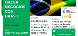 Gustavo Segre en Santa Fe: Como hacer negocios con Brasil
