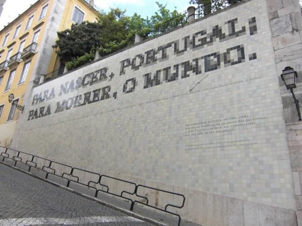 Monumento em celebração dos 400 anos do nascimento de P. António Vieira