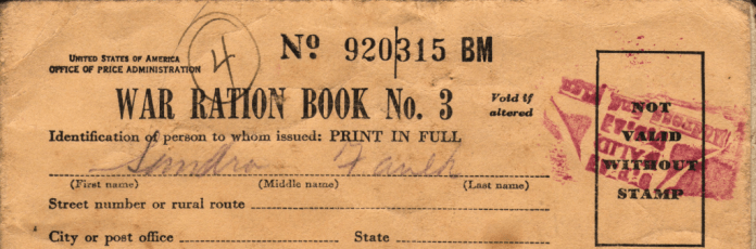 WWII_USA_Ration_Book_3_Front