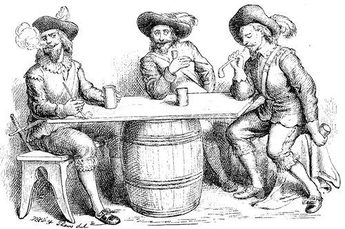 No século XVII o hábito de fumar já se havia disseminado por toda a Europa.