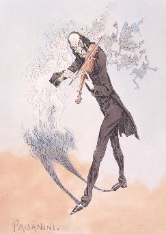 paganini cartoon