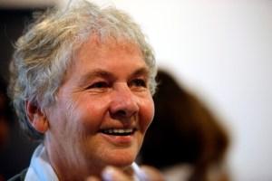 Christiane Nüsslein-Volhard (Fonte: http://upload.wikimedia.org/wikipedia/commons/5/5c/Christiane_N%C3%BCsslein-Volhard_mg_4406.jpg)