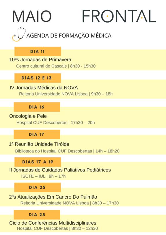 Agenda FM MAIO