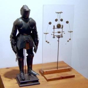 Reconstrução do Proto-robô Cavaleiro Mecânico (2002)