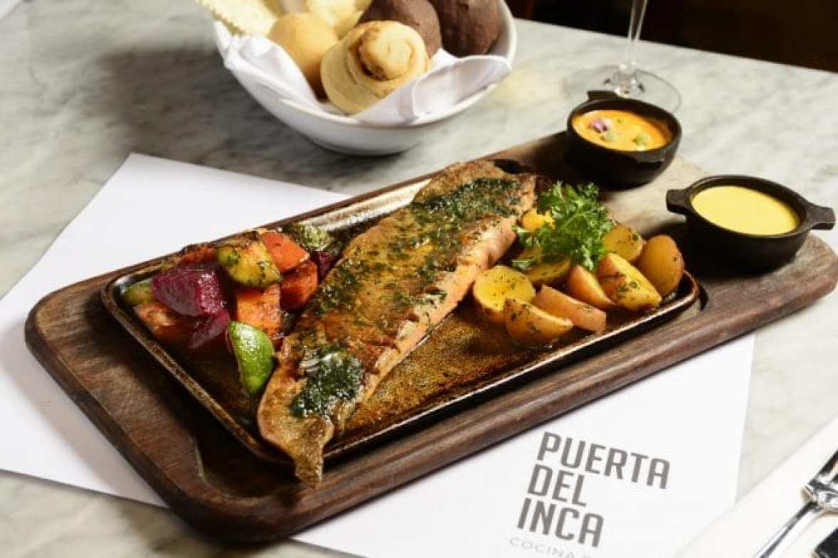 Image result for puerta del inca restaurant