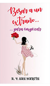 revistas literarias españolas. reseña besar a un extraño para empezar